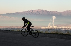 Winter Cycling; Utah, 2016