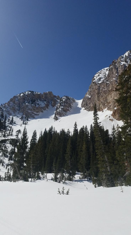 Deseret Peak Twin Couloirs - Douglas Tolman