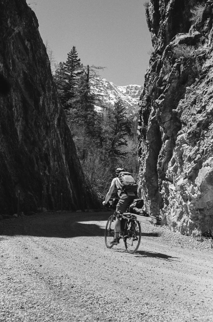 utah ski bikepacking touring